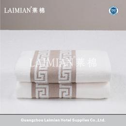 莱棉外贸毛巾厂家 32支进口棉色织提花套装定制方巾面巾浴巾