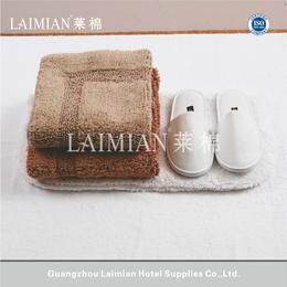 厂家直销酒店毛巾毯羊毛毯公寓客房地巾进口棉长绒毛巾垫定制批发