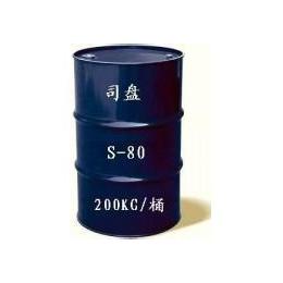 常州银光乳化剂司盘80乳化剂吐温80厂家直供欢迎来电