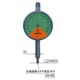 日本peacock孔雀牌指针式千分表百分表 高精度进口量表