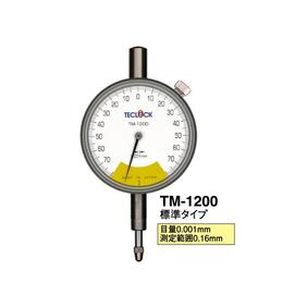 日本teclock得乐指针式千分表 进口量表TM-1200
