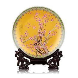 纪念盘定做 新款陶瓷纪念盘价格