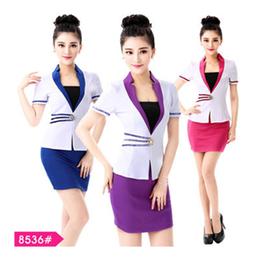 2016年春秋美容工作服销售 美容师美容院制服直销