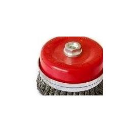 优质扭丝碗型钢丝轮 钢丝轮 罗碗型