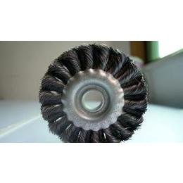 供应优质扭丝平型钢丝轮