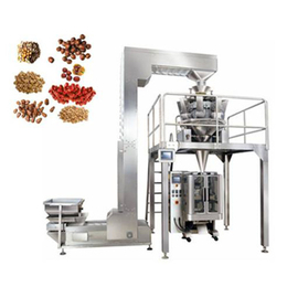济南包装机厂家专供速冻水饺果冻糖果全自动10头组合称包装机