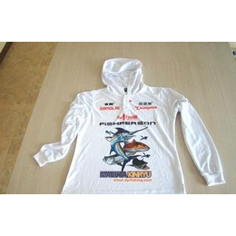 钓鱼人]2011新款白色长袖T恤钓鱼服