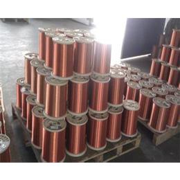 QZY-2-180聚酯亚胺漆包线   变压器专用漆包铜线