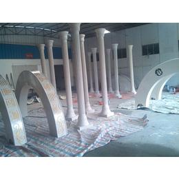厂家手糊玻璃钢定制 玻璃钢造型 玻璃钢罗马柱