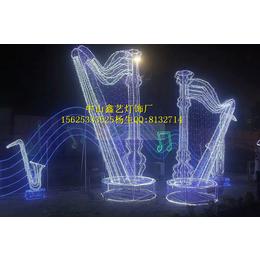 灯光节造型灯LED滴胶鹿子大型装饰灯