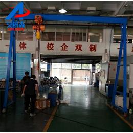 深圳简易龙门架工厂仓库起吊专用产品