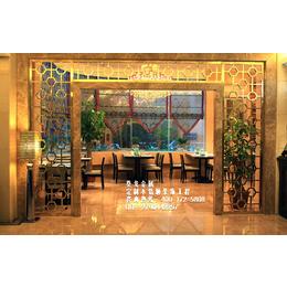 电镀玫瑰金无指纹不锈钢玻璃门 酒店商场彩色钛金玻璃大门