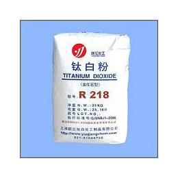 生产厂供应跃江金红石型钛粉R-218通用型
