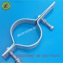 光缆用抱箍 拉线抱箍 电线杆抱箍 新疆地区供应商 电力金具