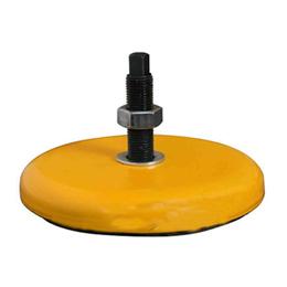 长城型黄色减震垫铁 qy8千亿国际安装调整斜铁