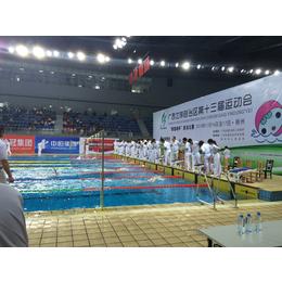 游泳馆计时计分qy8千亿国际 泳池计时器 触板计时