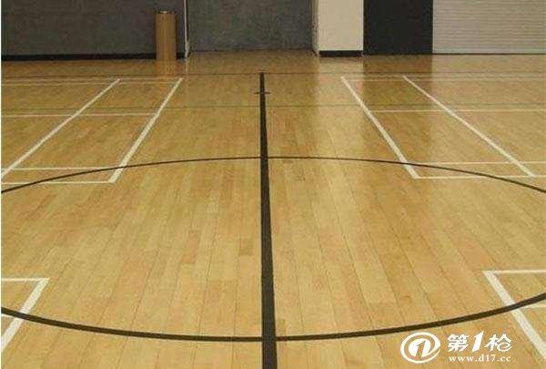 建材与装饰材料 装饰装修材料 地面装饰材料 木地板,竹地板 篮球馆木