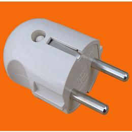 伊兰达供应直型可拆装可接线带接地欧式插头