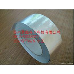 苏州厂家直销高温铝箔玻纤布胶带 铝箔玻纤布高温胶带