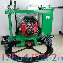汽油小型井盖切割机 机械汽油井盖切割机