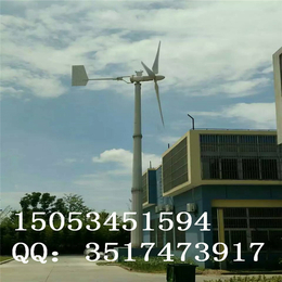厂家直销  新型  低风速3000W风力发电机 安装简便