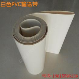 银川工业聚氨酯皮带厂家  高强力输送带  特殊加挡块输送带
