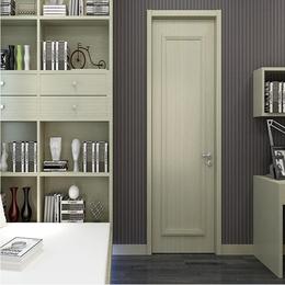 时尚简约欧式室内门 卧室实木复合免漆门 定制木门