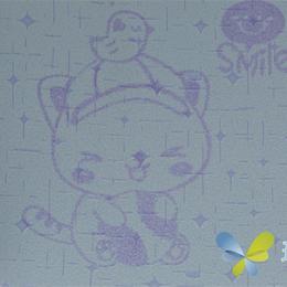 供应小猫小鸟花纹定制墙面涂料