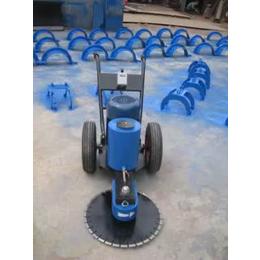 山东淄博快速锯桩机 600混凝土切桩机