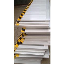 配电室专用不锈钢挡鼠板 安全防护隔离挡鼠板 黑黄反光挡鼠板