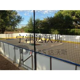 供应球场运动场pe防撞护栏 场地围栏板 厂家自产自销加工定制