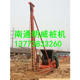 新疆手拉锤冲击钻桩机厂家价格南通明威冲孔打桩机