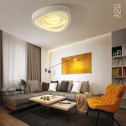 创意艺术主卧室灯温馨浪漫后现代简约大气北欧客厅