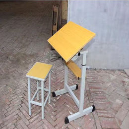 江西学校美术课桌椅 学生美术桌椅缩略图
