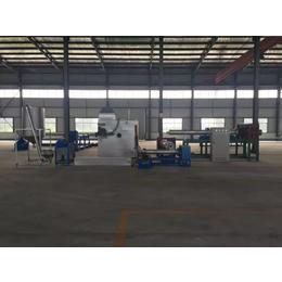 曲阜华诚塑料造粒机流水生产线环保除烟设备