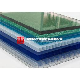 来宾崇左南宁柳州透明PC板 中空阳光板 大唐耐力板批发