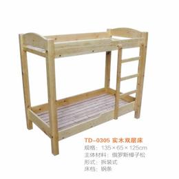 江西 实木双层床 幼儿园床
