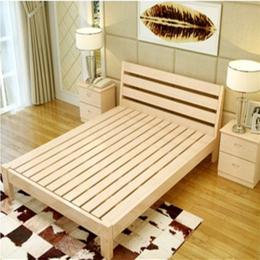 江西 实木传 公寓床