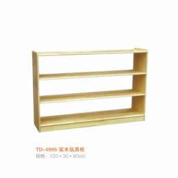 江西 实木玩具柜  幼儿园双面书柜