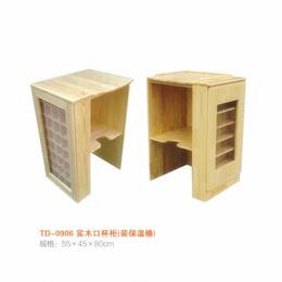 江西 实木口杯柜  幼儿园保温柜