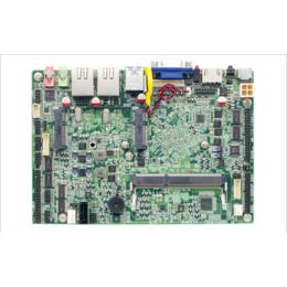 J1900四核CPU双网4寸嵌入式主板无风扇工控主板10串口