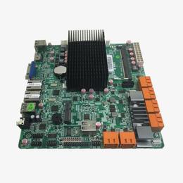 赛扬四核J1900主板多SATA口 NVR主板双HDMI输出