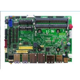 3855U主板6串口2千兆网口3.5寸3855无风扇工控主板