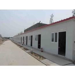 河北邢臺保暖防風異型彩鋼房工地用標準k型房