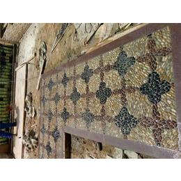 景德镇申达陶瓷厂(图),鹅卵石毯子,基隆鹅卵石