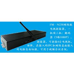 ZH-N230网络版电视拼接器可组成小规模视频监控
