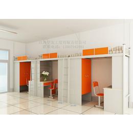学校连体公寓组合床