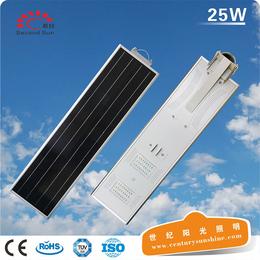 若日25W一体化太阳能led路灯小型太阳能发电太阳能路灯