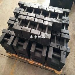 海口25公斤电梯载荷试验砝码 25kg机械配重铁