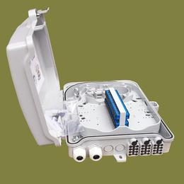 24芯光纤分纤箱 塑料分线盒外观图片